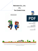 Research Report-Nintendo vs the Competitors