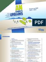 Projet de PDU 2013-2023