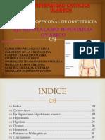 Eje Hipotalamico Hipofisiario Ovarico