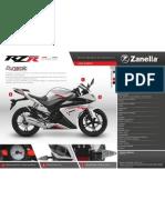 Zanella RZ25R - Fichatecnica