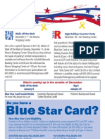 Blue Star Card Newsletter December 2012