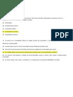 EXERCÍCIO DE CONSTITUIÇÃO FEDERAL