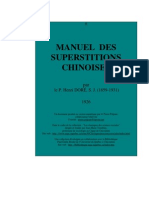 1926 - Doré H s.j. - Manuel des superstitions chinoises