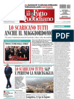 Il Fatto Quotidiano 20110921