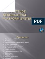 53751908 High Altitude Aeronautical Platform Systems