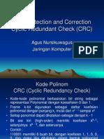 Error Detection and Correction Cyclic Redundant Check