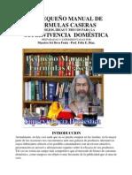 40922448 Pequeno Manual de Formulas de Productos Caseros