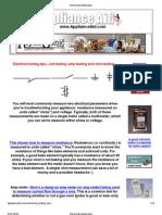 Meter Testing and Usage Tips