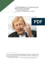 Walter Benjamin y Peter Sloterdijk