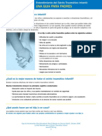 Guide for Parents-Understanding Child Traumatic Stress Spanish.