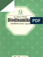 Biofüzetek 9 - Mezei Ottóné - Biodinamikus szemléletű kertész vagyok