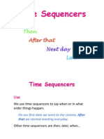 Time Sequencers