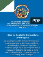coaliciones comunitarias