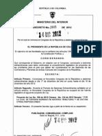 Decreto sesiones extras