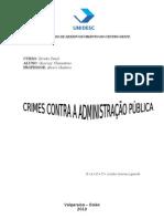 UNIVERSITÁRIO DE DESENVOLVIMENTO DO CENTRO OESTE