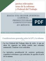Aspectos Relevantes de la Reforma Laboral en México