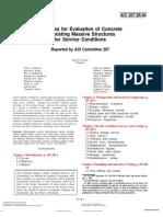 ACI 207.3 (1994) Practices-EvalConcrete-ExistingMassStruct