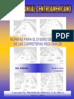 manual centroamericano de carreteras regionales