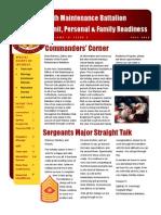 4th Maintenance Battalion Newsletter - Fall FY13