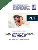 Manual Como Dormir Con Calidad