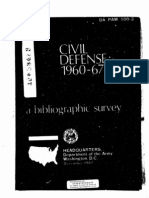 Civil Defense Bibliography 1960-1967