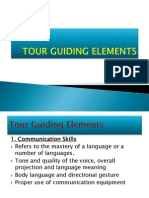 Tour Guiding Elements