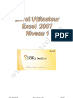 cours exel 2007