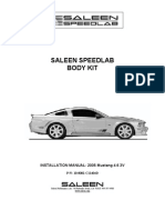 Saleen Speedlab Body Kit Installation Manual - Rev D[2]