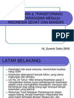 Indonesia Sehat Dan Mandiri
