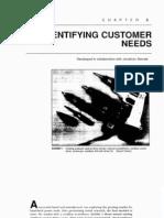 03 - Identifying Customer Needs