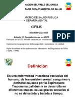 Manejo Integra Sifilis -Lab