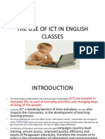 The Use of Ict in English Classes