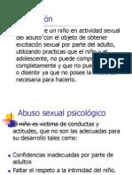 1 Abuso sexual del niño