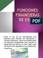Funciones Financieras de Excel