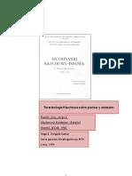 Terminología Kkechuwa de plantas y animales