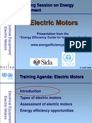 Electrical Motors Ppt | Electric Motor | Engines