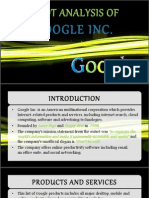 SWOT Analysis of google