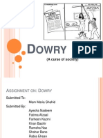 Dowry ppt