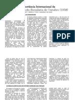 A Importancia Internacional da Grande Revoluçao Socialista de Outubro (1958)
