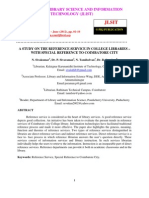 01 a Study on the Reference Service in College Libraries