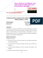 Awareness of Digital Library Among Library Professional In