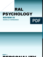 General Psychology Review 3
