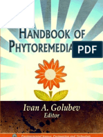 HANDBOOK OF PHYTOREMEDIATION