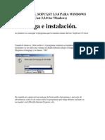 Manual Del Sopcast 3.5.0