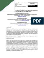Enterprise Resource Planning (Erp) System in Higher