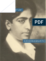 Vie et mort de Krishnamurti, par Mary Lutyens