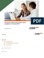 Modificari Cod Fiscal Ianuarie 2013