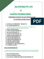 EMBEDDED Karthi Tech