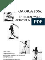 Oaxaca 2006 Entretien Pageparpage