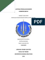 Kompor Energi Surya mahasiswa UBB